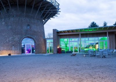 KaffeeMühle im APX - Terrasse Abend-nah - Xanten